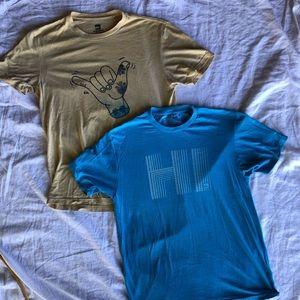 Quicksilver Men's Graphic TShirt Bundle